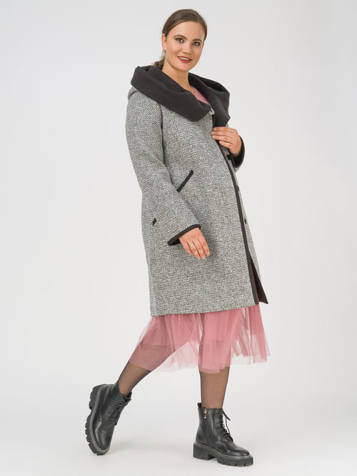 Текстильное пальто артикул 30810667/50 - фото 2