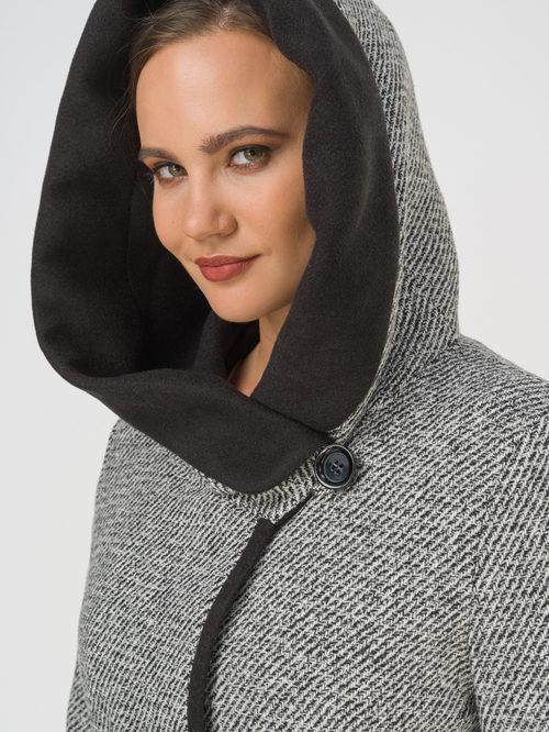 Текстильное пальто артикул 30810667/50 - фото 3