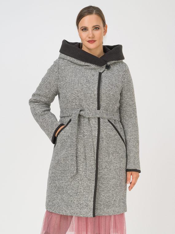 Текстильное пальто 35% шерсть, 65% полиэстер, цвет темно-серый, арт. 30810667  - цена 8990 руб.  - магазин TOTOGROUP