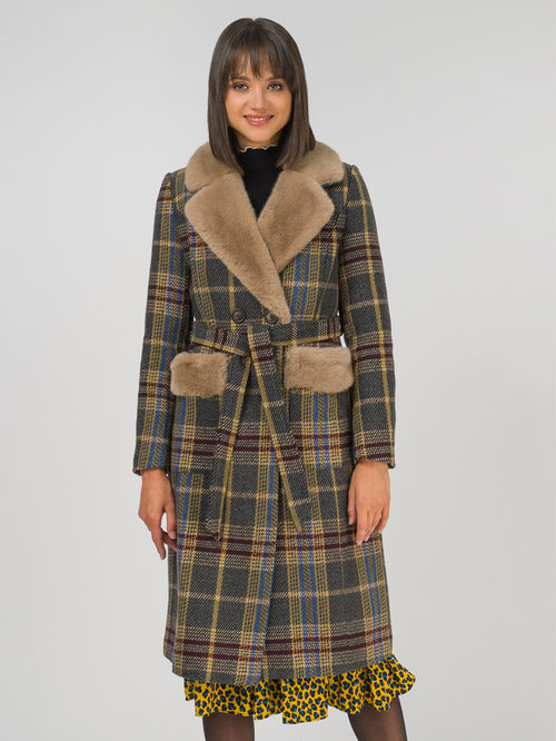 Текстильное пальто артикул 30810728/46 - фото 2