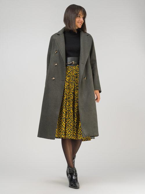 Текстильное пальто артикул 30810742/48 - фото 2