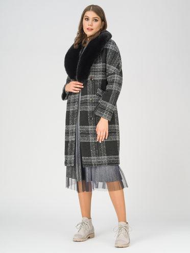 Текстильное пальто 70% полиэстер, 20% шесть, 10% вискоза, цвет темно-серый, арт. 30810870  - цена 6990 руб.  - магазин TOTOGROUP