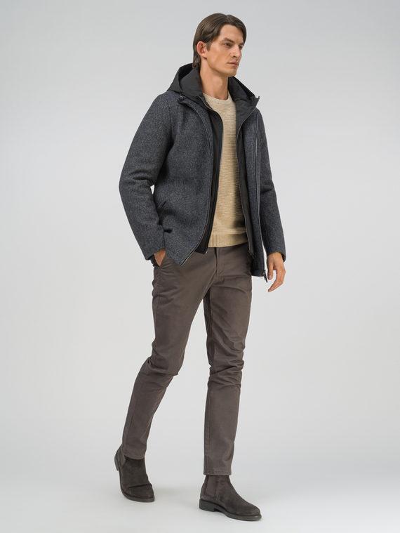 Текстильное пальто 51% п/э,49%шерсть, цвет темно-серый, арт. 30810890  - цена 11290 руб.  - магазин TOTOGROUP