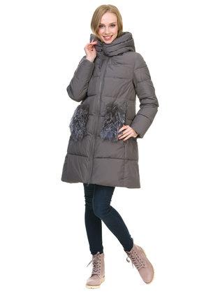 Пуховик текстиль, цвет серый, арт. 30900785  - цена 8990 руб.  - магазин TOTOGROUP