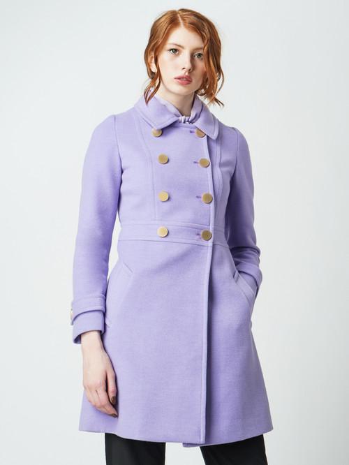 Текстильное пальто артикул 31005649/42 - фото 2