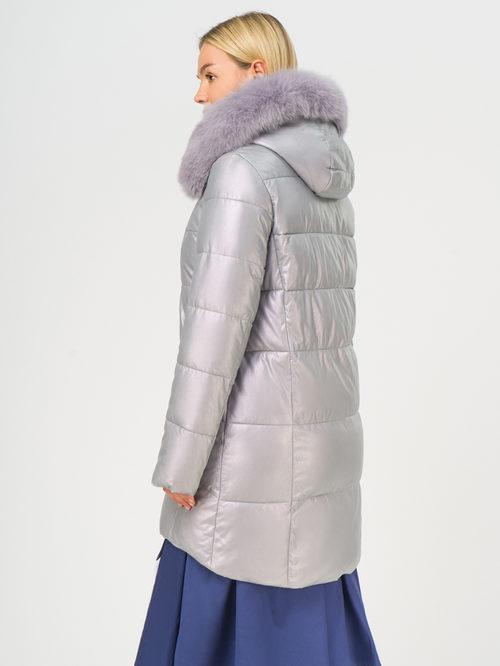Кожаное пальто артикул 31109242/48 - фото 3