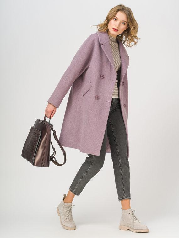 Текстильное пальто , цвет светло-фиолетовый, арт. 31809322  - цена 6290 руб.  - магазин TOTOGROUP