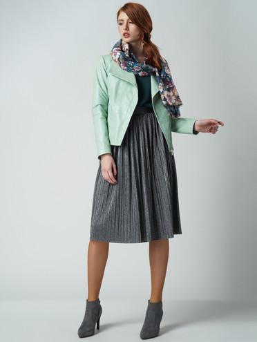 Кожаная куртка кожа , цвет светло-зеленый, арт. 32005541  - цена 8990 руб.  - магазин TOTOGROUP