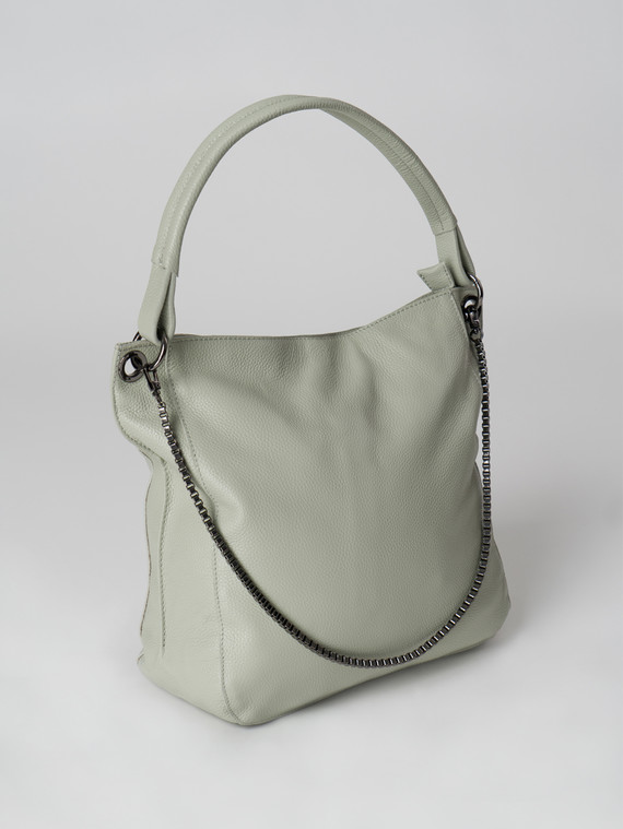 Сумка кожа теленок, цвет светло-зеленый, арт. 32006019  - цена 3590 руб.  - магазин TOTOGROUP