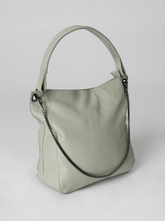 Сумка кожа теленок, цвет светло-зеленый, арт. 32006019  - цена 4990 руб.  - магазин TOTOGROUP