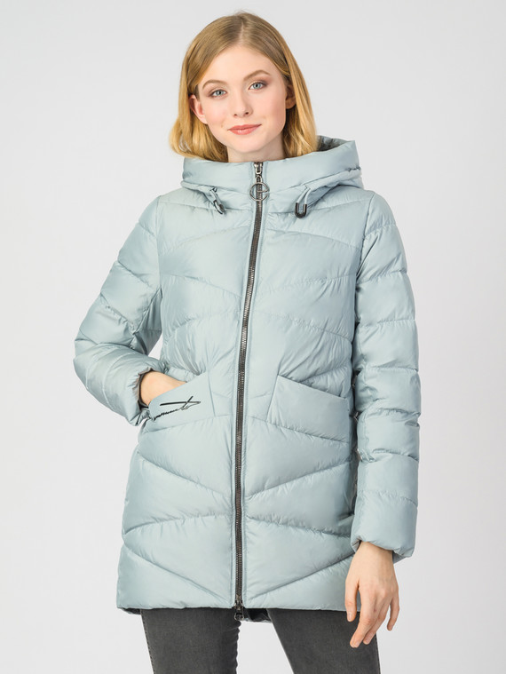 Пуховик текстиль, цвет светло-зеленый, арт. 32006230  - цена 4740 руб.  - магазин TOTOGROUP