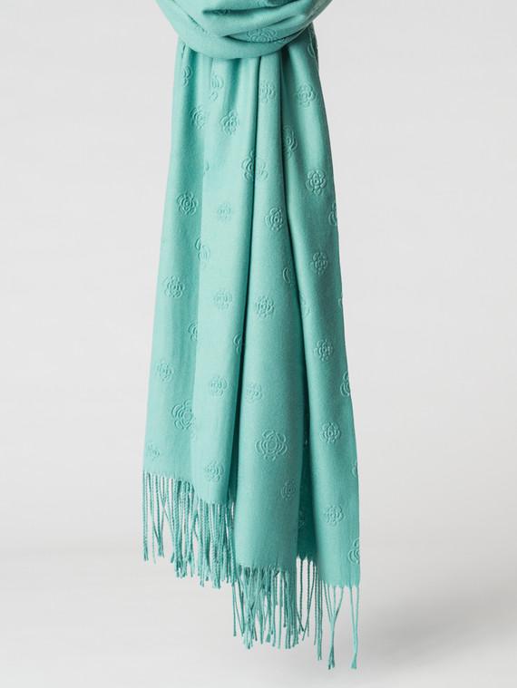 Шарф 100% кашемир, цвет светло-зеленый, арт. 32007148  - цена 1490 руб.  - магазин TOTOGROUP
