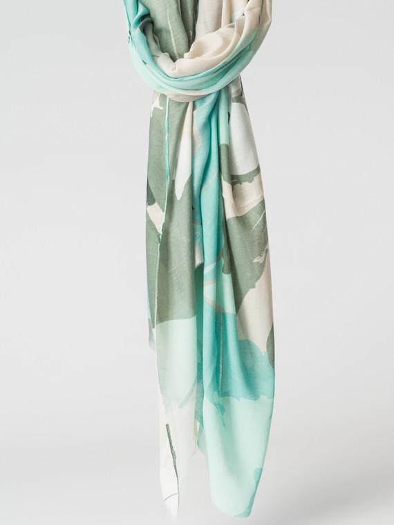 Шарф 100% вискоза, цвет светло-зеленый, арт. 32007155  - цена 1130 руб.  - магазин TOTOGROUP