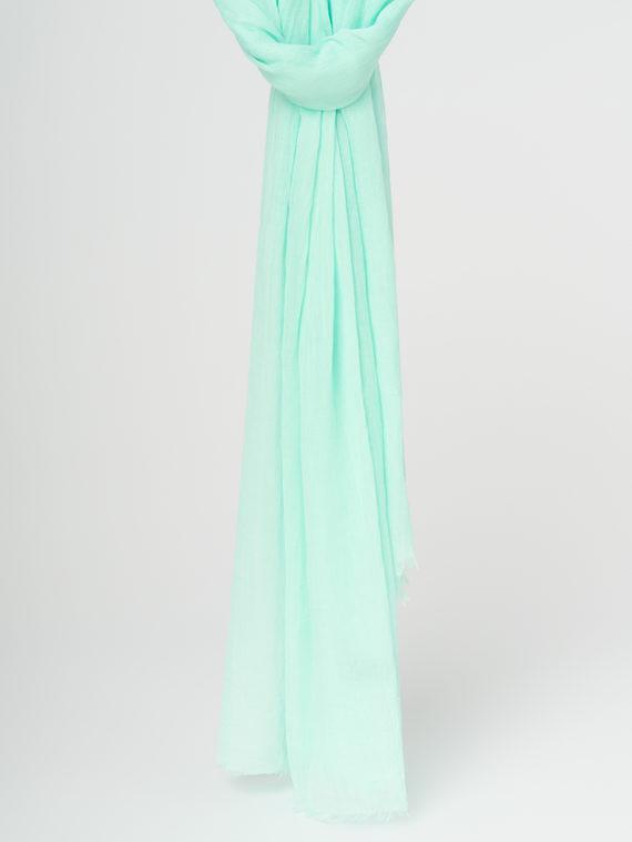 Шарф 100% бамбук, цвет светло-зеленый, арт. 32107795  - цена 990 руб.  - магазин TOTOGROUP