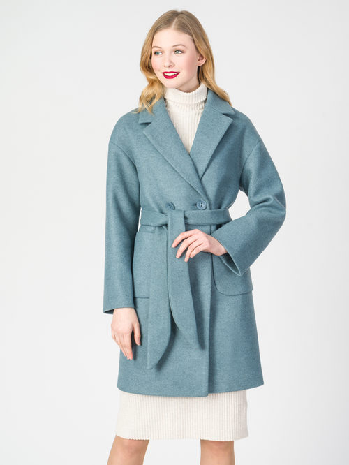 Текстильное пальто артикул 32107823/42 - фото 2
