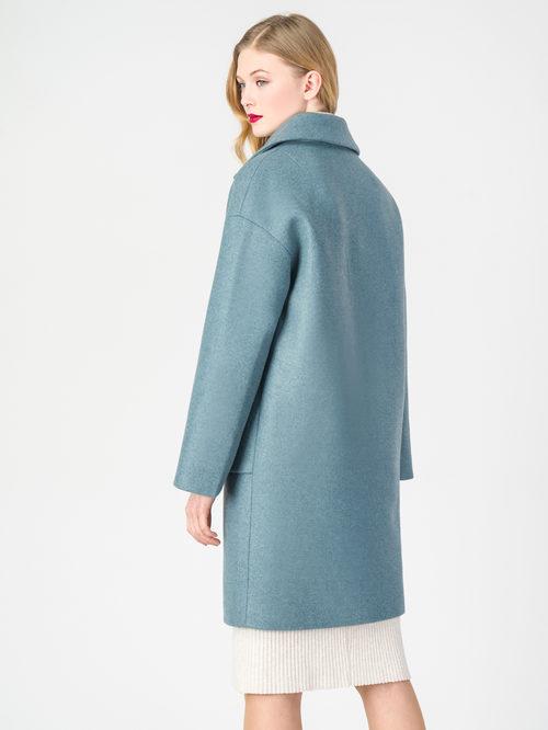 Текстильное пальто артикул 32107823/42 - фото 3