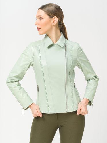 Кожаная куртка кожа , цвет светло-зеленый, арт. 32802489  - цена 8990 руб.  - магазин TOTOGROUP