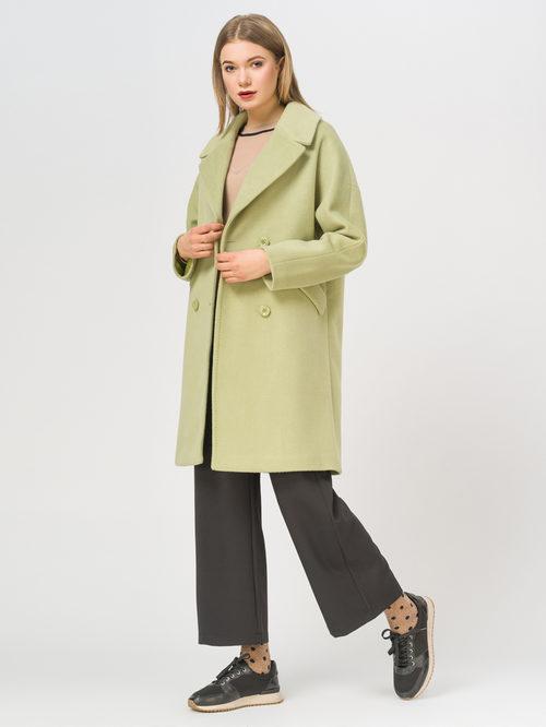 Текстильное пальто артикул 32809322/44 - фото 2