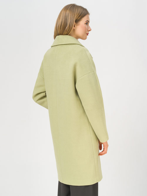 Текстильное пальто артикул 32809322/44 - фото 3