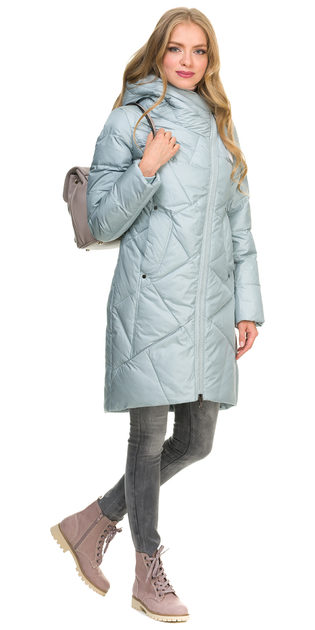 Пуховик текстиль, цвет голубой, арт. 32900782  - цена 7990 руб.  - магазин TOTOGROUP
