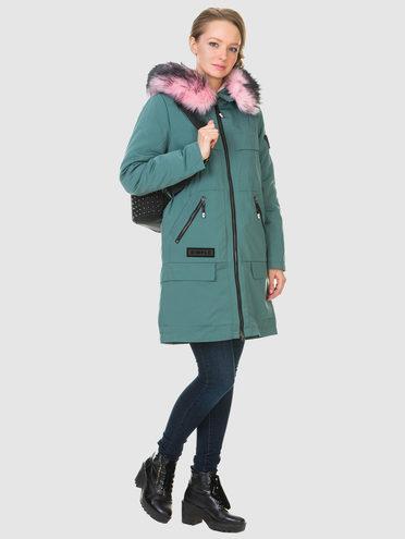 Пуховик текстиль, цвет светло-зеленый, арт. 32901014  - цена 4740 руб.  - магазин TOTOGROUP