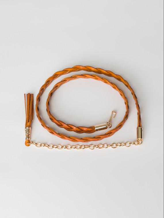Ремень кожа теленок, цвет рыжий, арт. 33007252  - цена 990 руб.  - магазин TOTOGROUP
