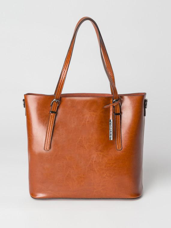 Сумка кожа теленок, цвет коричневый, арт. 33007359  - цена 5890 руб.  - магазин TOTOGROUP