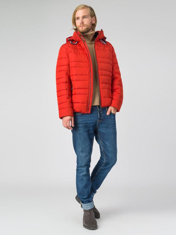 ecbbc5895361 Пуховик текстиль, цвет красный, арт. 33007452 - цена 4490 руб. - магазин
