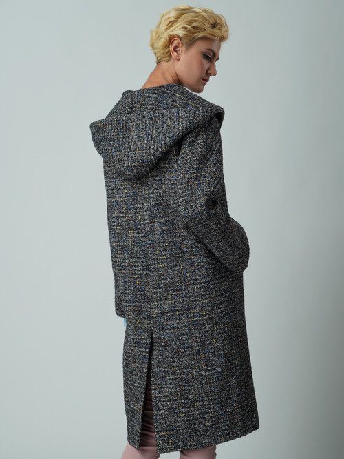 Текстильное пальто артикул 34005674/44 - фото 3