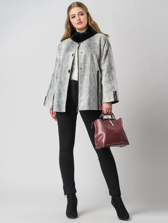 Кожаная куртка эко кожа 100% П/А, цвет микс, арт. 34005933  - цена 6990 руб.  - магазин TOTOGROUP