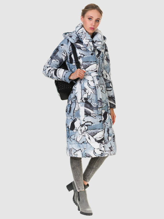 Пуховик текстиль, цвет микс, арт. 34903592  - цена 4740 руб.  - магазин TOTOGROUP