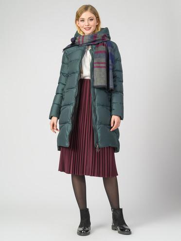 Пуховик текстиль, цвет темно-зеленый, арт. 35006234  - цена 4990 руб.  - магазин TOTOGROUP