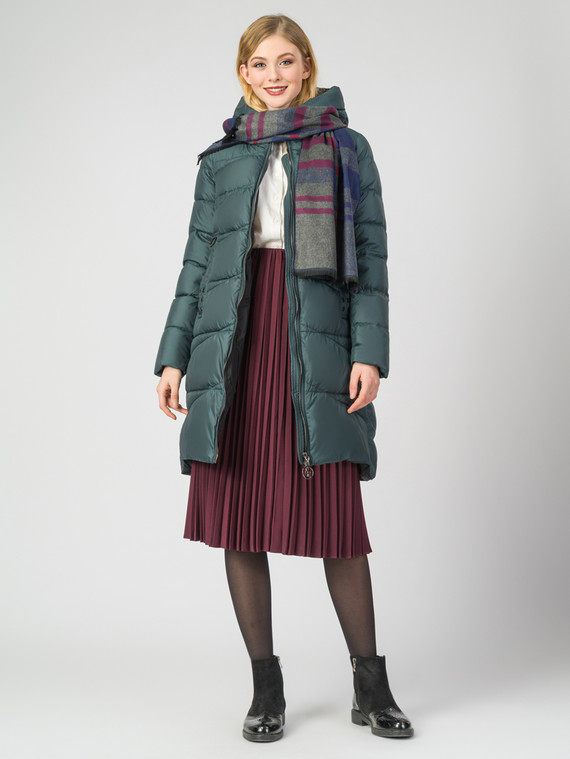 Пуховик текстиль, цвет темно-зеленый, арт. 35006234  - цена 6990 руб.  - магазин TOTOGROUP