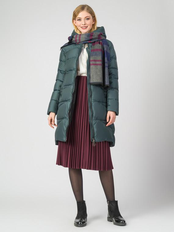 Пуховик текстиль, цвет темно-зеленый, арт. 35006234  - цена 5290 руб.  - магазин TOTOGROUP