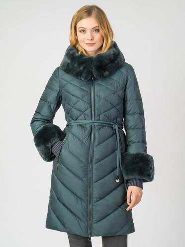 Пуховик текстиль, цвет темно-зеленый, арт. 35006250  - цена 8990 руб.  - магазин TOTOGROUP