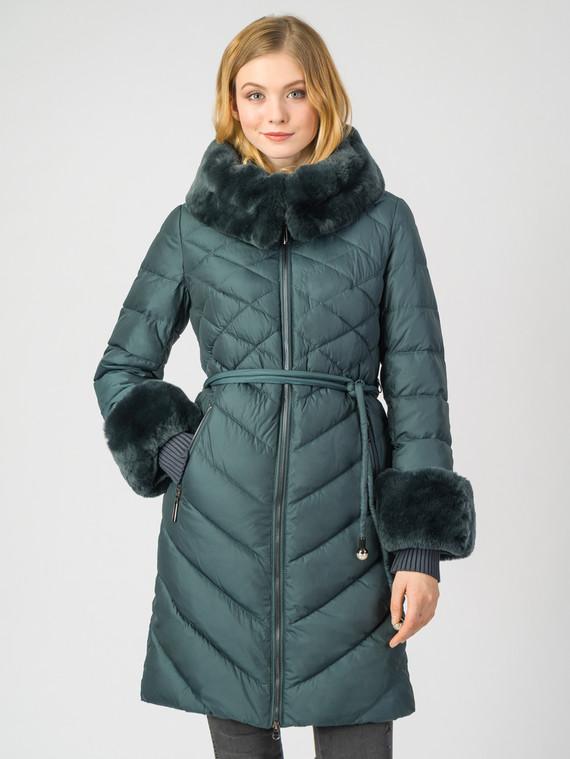 Пуховик текстиль, цвет темно-зеленый, арт. 35006250  - цена 7990 руб.  - магазин TOTOGROUP