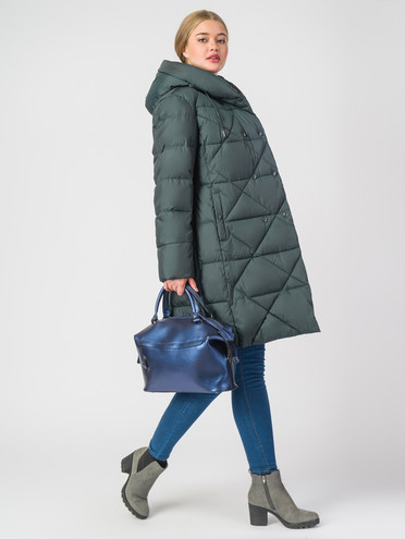 Пуховик текстиль, цвет темно-зеленый, арт. 35006291  - цена 7990 руб.  - магазин TOTOGROUP