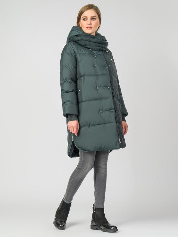 Пуховик текстиль, цвет темно-зеленый, арт. 35006293  - цена 5890 руб.  - магазин TOTOGROUP