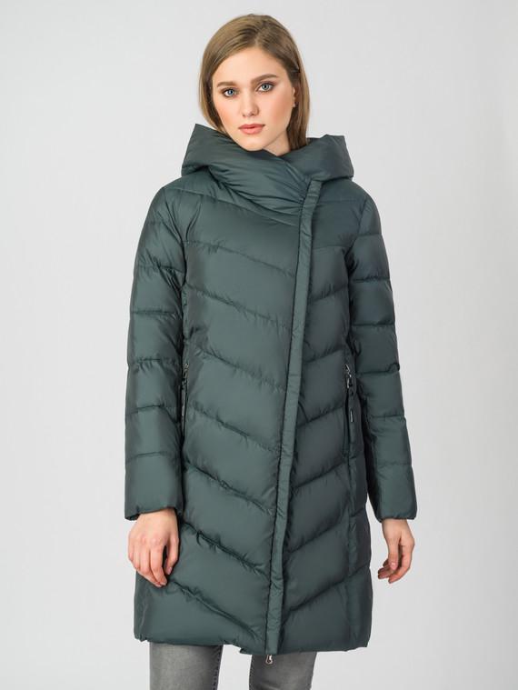 Пуховик текстиль, цвет темно-зеленый, арт. 35006296  - цена 5590 руб.  - магазин TOTOGROUP
