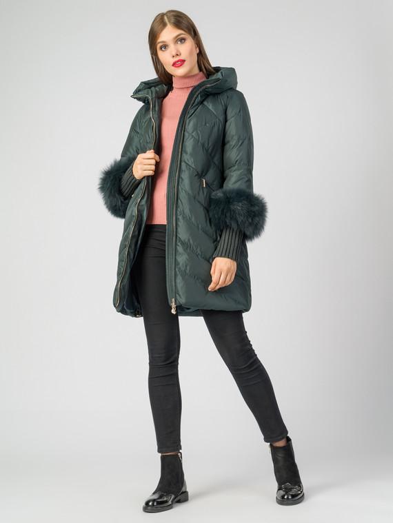 Пуховик текстиль, цвет темно-зеленый, арт. 35006301  - цена 8490 руб.  - магазин TOTOGROUP