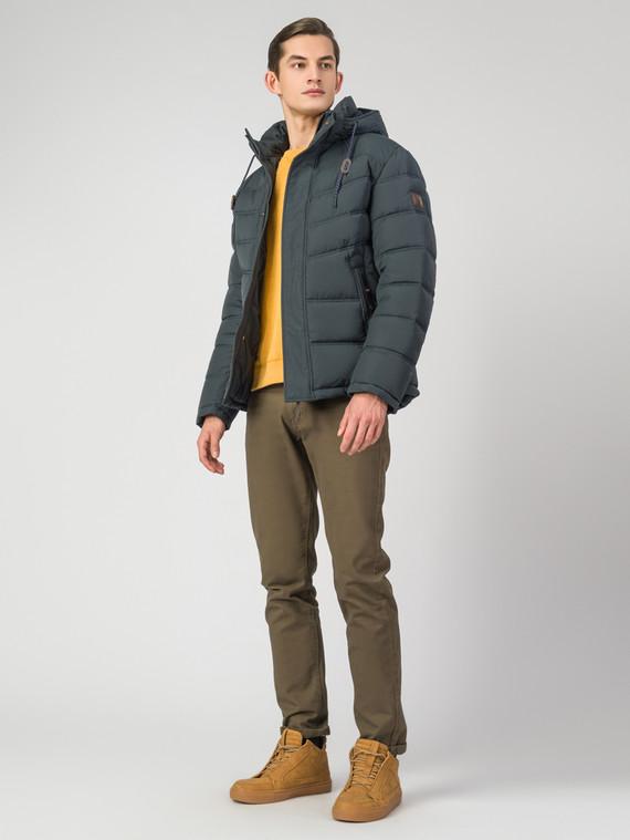Пуховик текстиль, цвет темно-зеленый, арт. 35006344  - цена 7490 руб.  - магазин TOTOGROUP