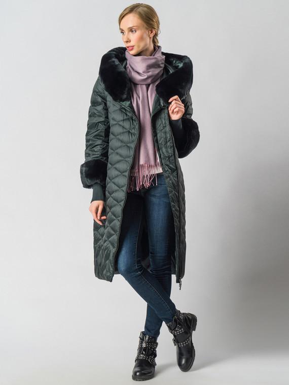 Пуховик текстиль, цвет темно-зеленый, арт. 35006357  - цена 28490 руб.  - магазин TOTOGROUP