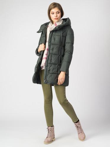 Пуховик текстиль, цвет темно-зеленый, арт. 35006441  - цена 8990 руб.  - магазин TOTOGROUP