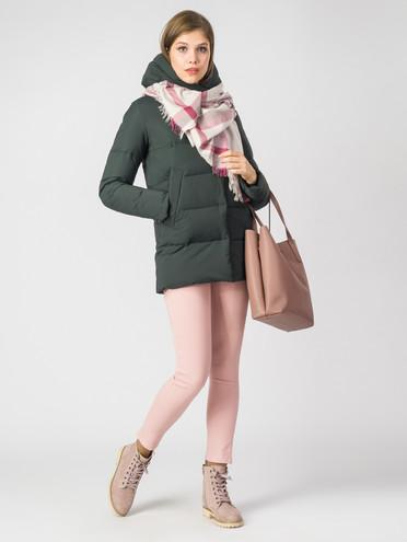 Пуховик текстиль, цвет темно-зеленый, арт. 35006444  - цена 8490 руб.  - магазин TOTOGROUP