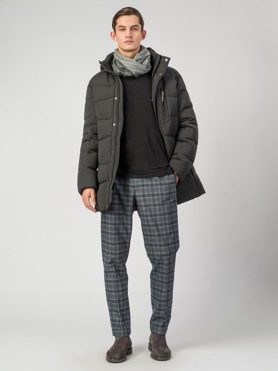Пуховик текстиль, цвет черный, арт. 35006507  - цена 7990 руб.  - магазин TOTOGROUP
