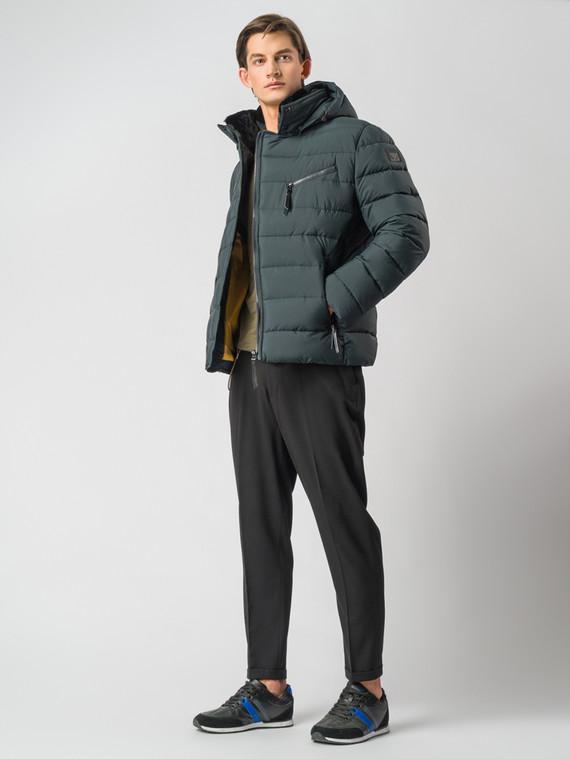 Пуховик текстиль, цвет темно-зеленый, арт. 35006713  - цена 7490 руб.  - магазин TOTOGROUP