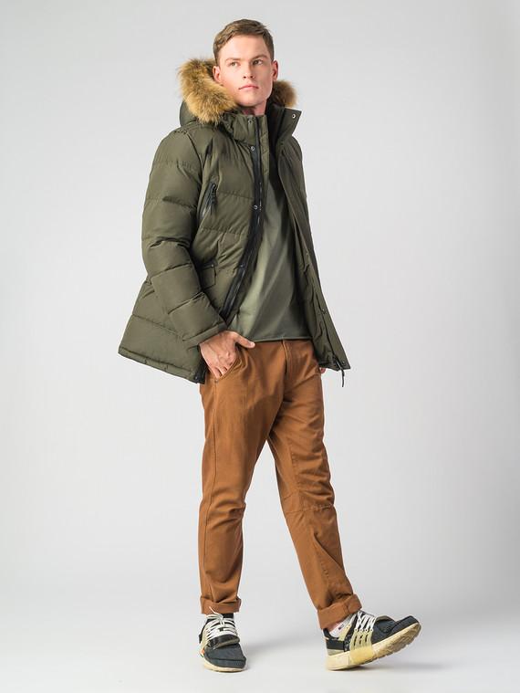Пуховик текстиль, цвет зеленый, арт. 35006736  - цена 5590 руб.  - магазин TOTOGROUP