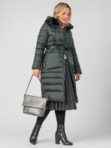 Пуховик текстиль, цвет темно-зеленый, арт. 35006882  - цена 9990 руб.  - магазин TOTOGROUP