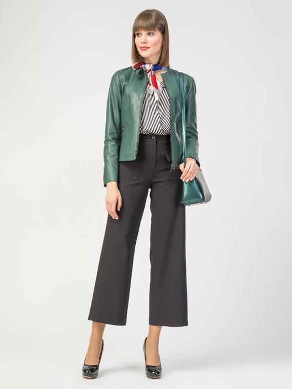Кожаная куртка кожа , цвет зеленый, арт. 35106254  - цена 8990 руб.  - магазин TOTOGROUP