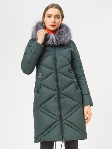 Пуховик текстиль, цвет темно-зеленый, арт. 35108945  - цена 8990 руб.  - магазин TOTOGROUP